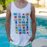 Camiseta PersianasCuadrado UNISEX