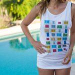 Camiseta PersianasCuadrado UNISEX 2
