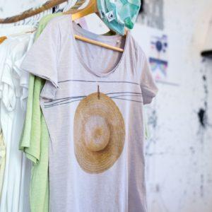 Camiseta Sombrero Pagesa Mujer 2